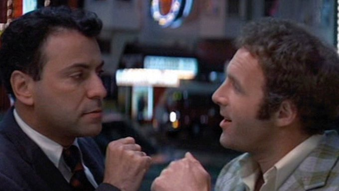 I can t believe Freebie and the Bean have the same birthday! Happy Birthday to Alan Arkin and James Caan.