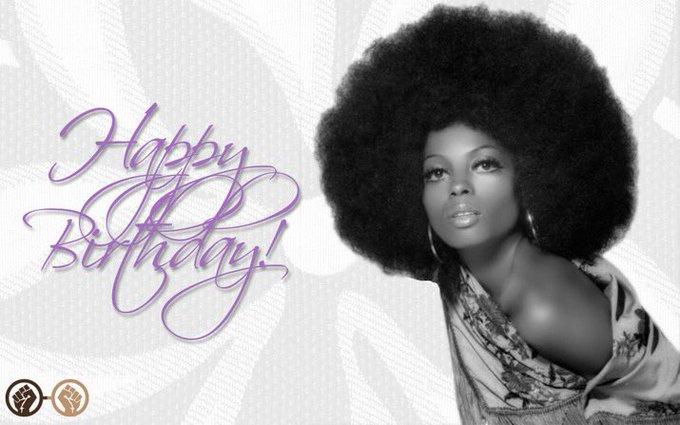 Happy Birthday, Diana Ross! The legendary diva turns 74 today!