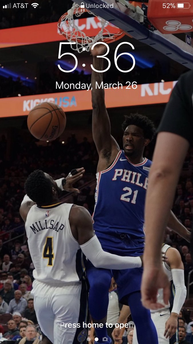 Max On Twitter Thanks For The New Wallpaper Joelembiid
