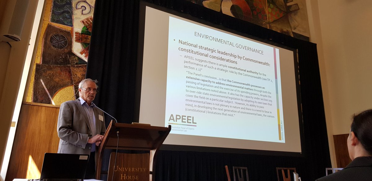 Aciucn on twitter prof rob fowler highlights the excellent work of the australian panel of experts on environmental law for next generation environmental laws read the apeel blueprint httpapeel naturelaws malvernweather Gallery