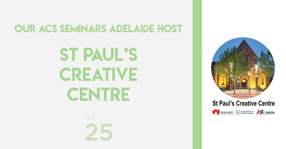 test Twitter Media - @stpaulsadelaide will be hosting us for the #ACSSeminar in Adelaide & we can't wait!  Learn more about them and their creative co-working space here: https://t.co/bdUvP6iwPZ 🎨 https://t.co/bwFSz0pqVA
