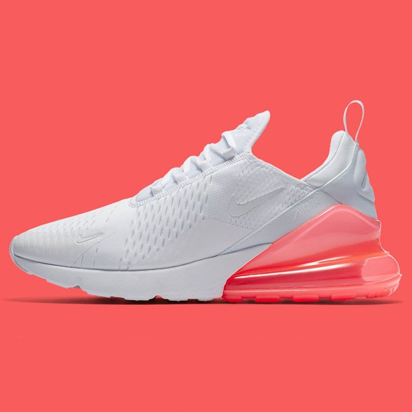 Nike Air Max 270s with 'Hot Punch