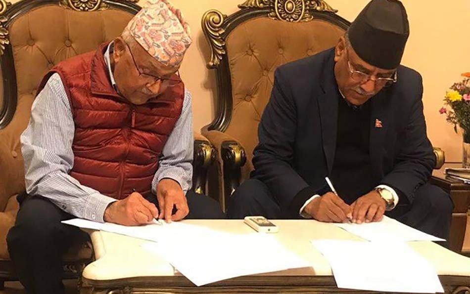 एकीकृत पार्टीमा दुई अध्यक्ष, २९९ केन्द्रीय सदस्यः  टुंगिन बाँकी ३ विषय