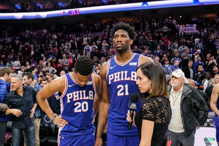 So happy and proud of my brother... Great having you back!!! The future is bright #TheProcess
