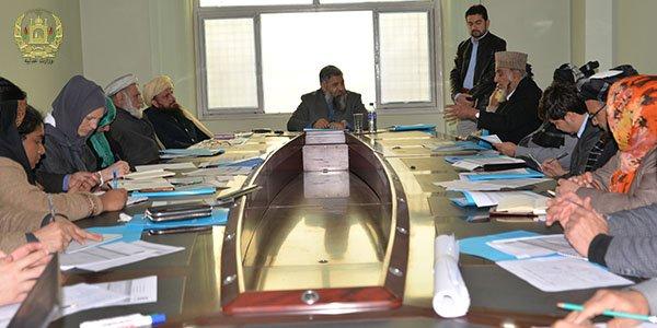 نشست مشورتی در رابطه به عدالت غیر رسمی (جرگهها) در وزارت عدلیه برگزار گردید moj.gov.af/fa/news/335301