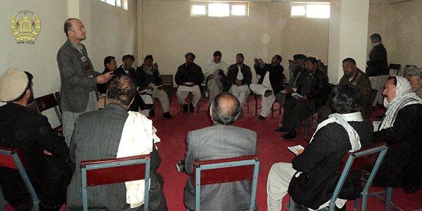 برگزاری برنامۀ آگاهی عامه حقوقی درمورد حقوق اساسی ووجایب اتباع در ناحیه سیزدهم شهر کابل moj.gov.af/fa/news/335360