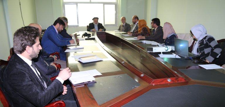 نشستی به منظور نهایی سازی دیتابیس سیستم مساعدتهای حقوقی در وزارت عدلیه برگزار گردید moj.gov.af/fa/news/335697