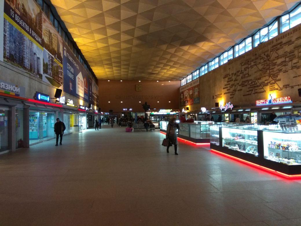 Фото московского вокзала внутри