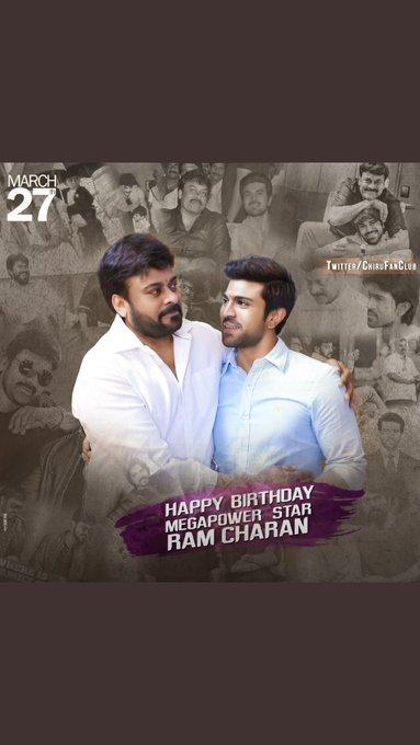 # HAPPY BIRTHDAY SIR  # Ram charan