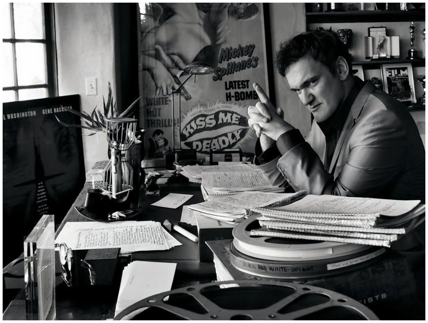 Quentin Tarantino (Knoxville, Tennessee, March 27, 1963)  Happy birthday !!!