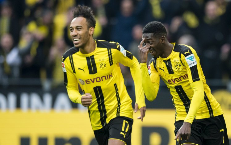 edac31ba3 Ousmane Dembele wants to join Arsenal to play alongside Pierre-Emerick  Aubameyang after growing frustrated with life at Barcelona