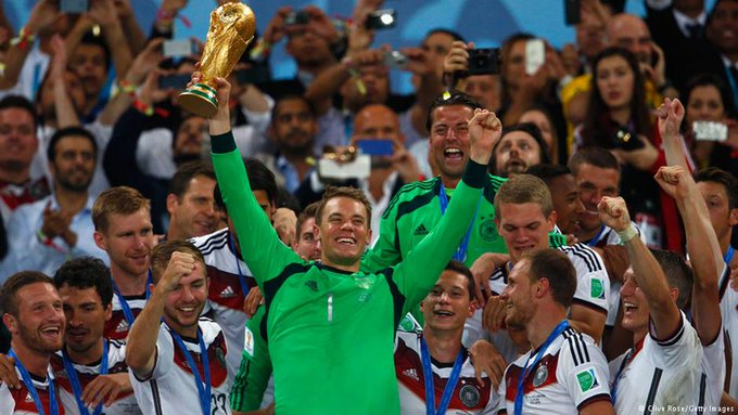 Happy 32nd birthday to the human wall, Manuel Neuer. Can Germany win tonight in his honor?