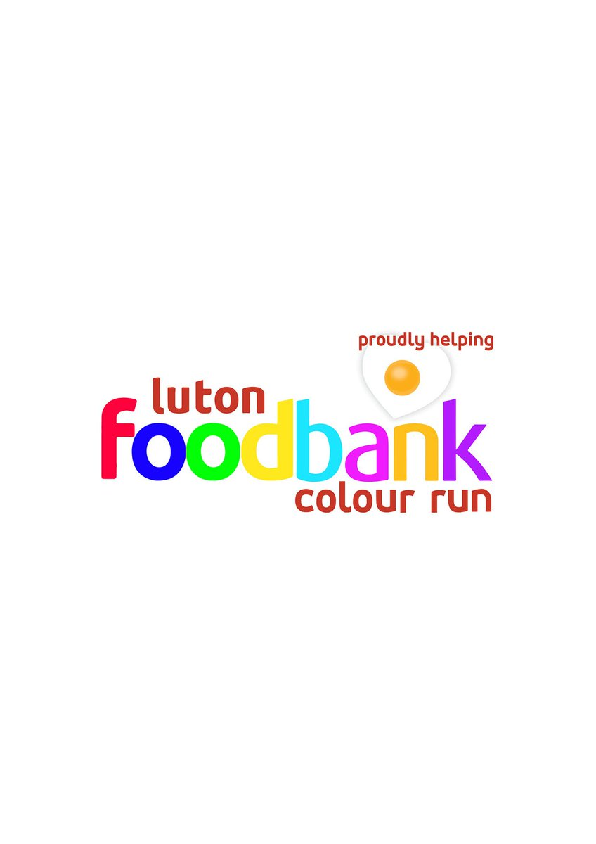 Luton Foodbank Colour Run 2018