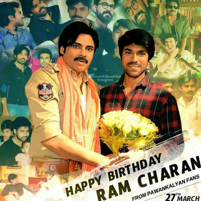 Happy Birthday Ram Charan From BABAI Fans