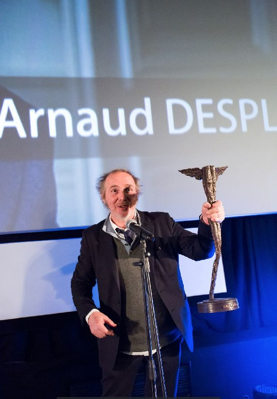 Director #ArnaudDesplechin receives a Lifetime Achievement Award at Prague&#39;s @Febiofest<br>http://pic.twitter.com/vi0rdYrLc7