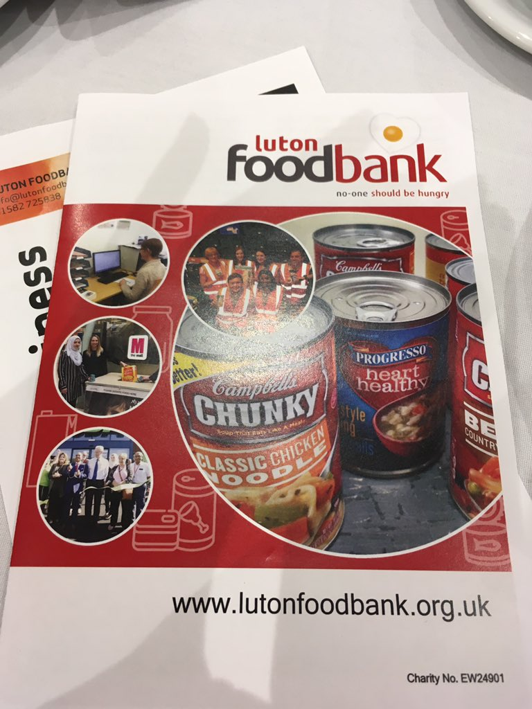 Luton Vcs On Twitter At The Start Of The Luton Food Bank 5