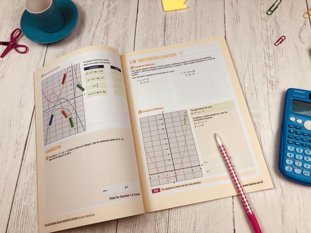 Workbooks workbook methods : tutor2u Maths (@tutor2uMaths)   Twitter