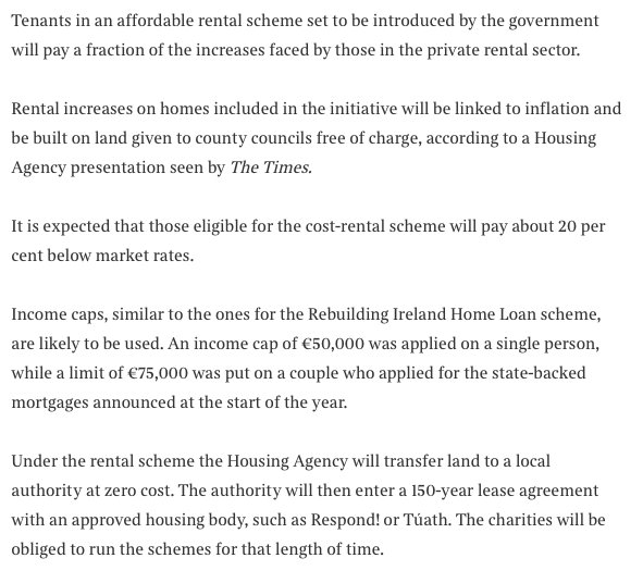 Lorcan Sirr On Twitter Given Rents Could Well Be C20 Higher By
