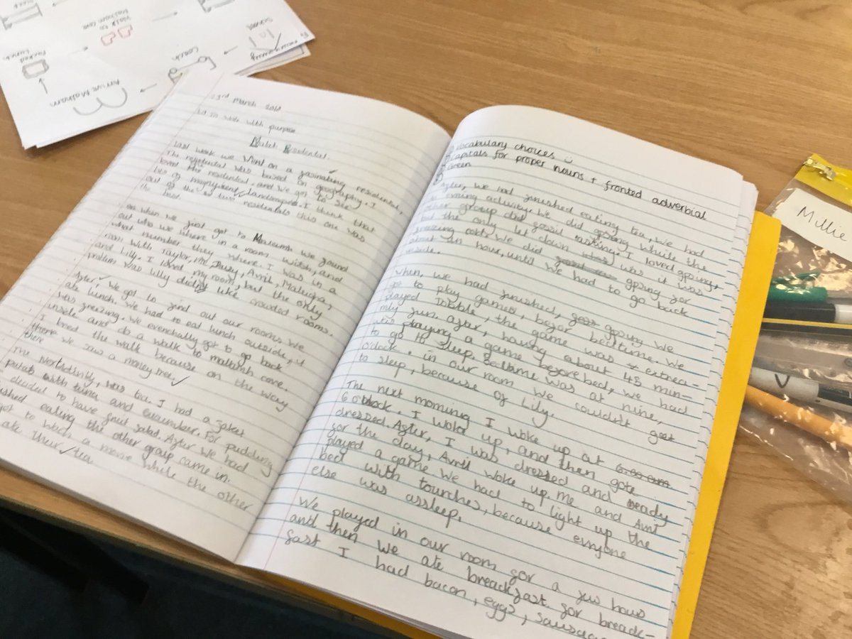 test Twitter Media - Writing recounts about our residential in #gorseyenglish, how can we use fronted adverbial to move time on? https://t.co/v5Wofz8ajd