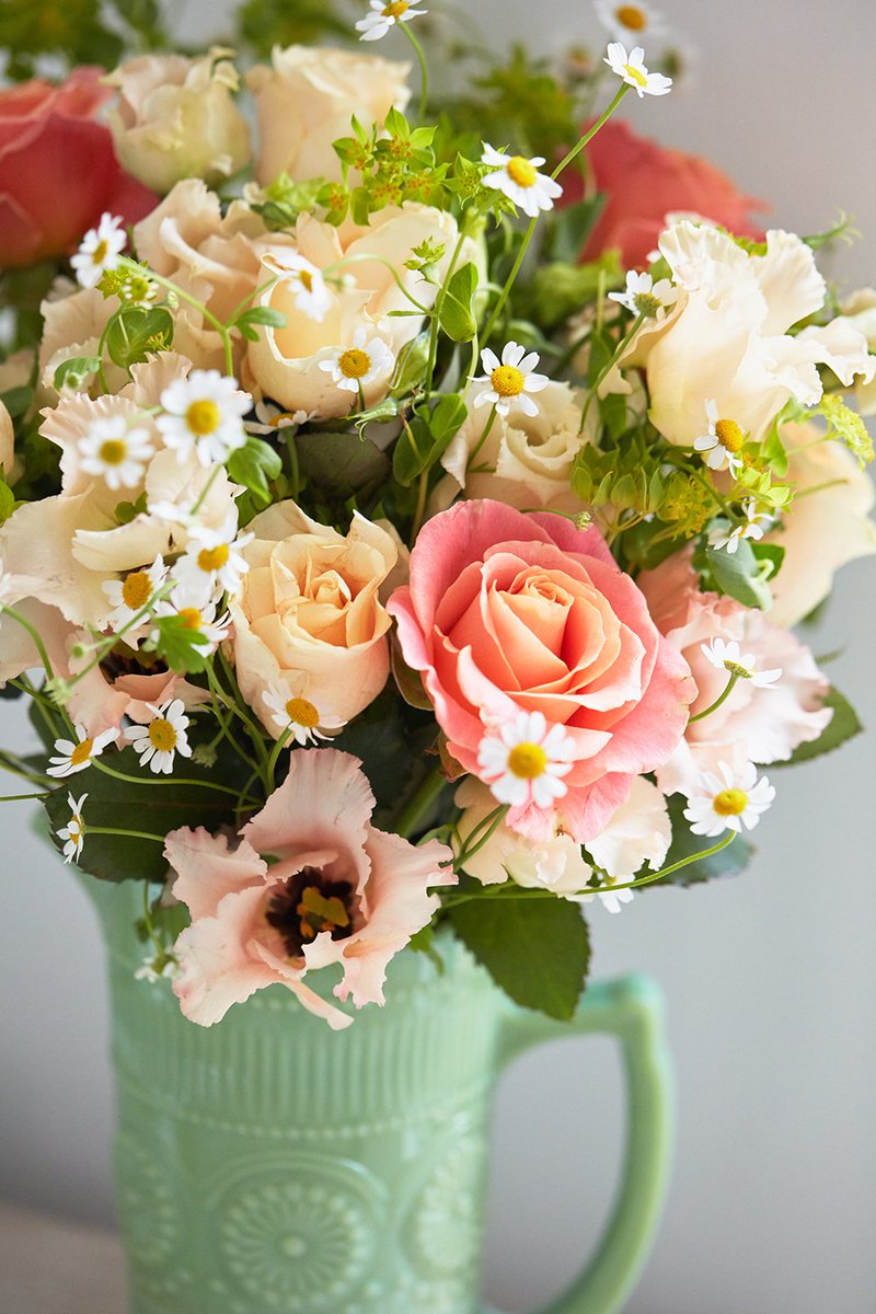 Bloom Wild On Twitter Just Peachy This Hand Tied Bouquet Is A