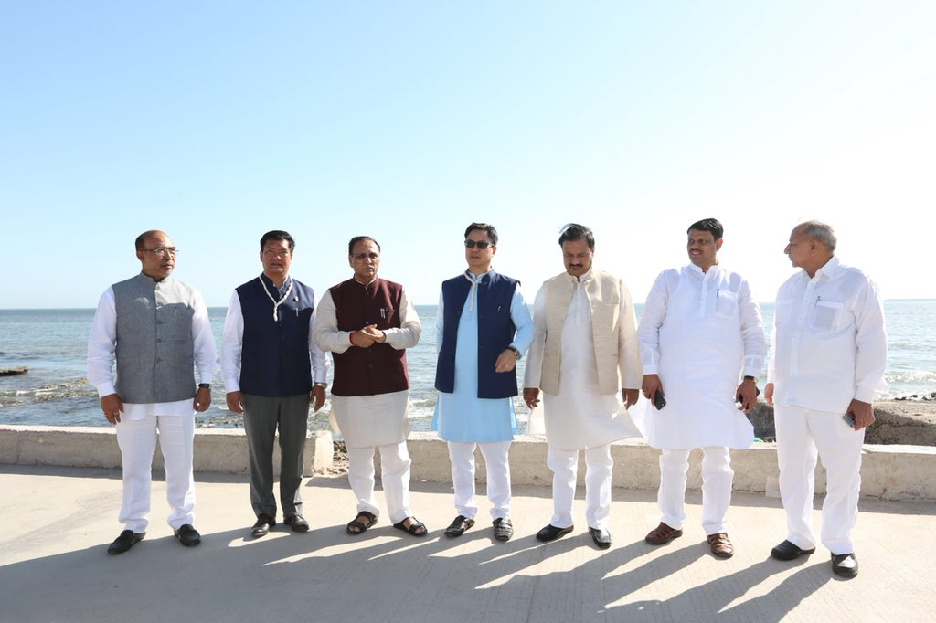 CMs of Arunachal Pradesh, Manipur and Gujarat attend Madhavpur fair