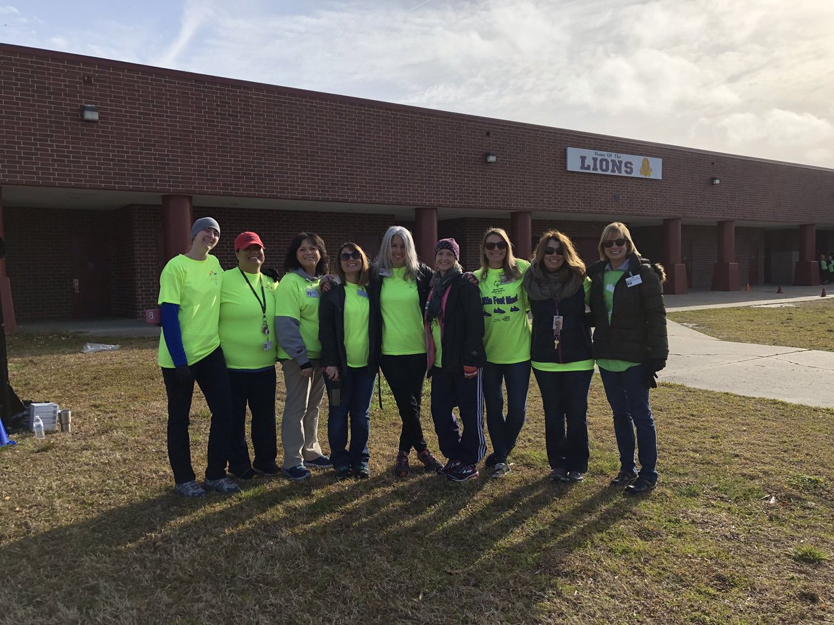 OT/PT staff excited for the 2nd annual Little Feet Meet. #VBLFM2018 @KaseySabo @vbcpsopec @rob_mages