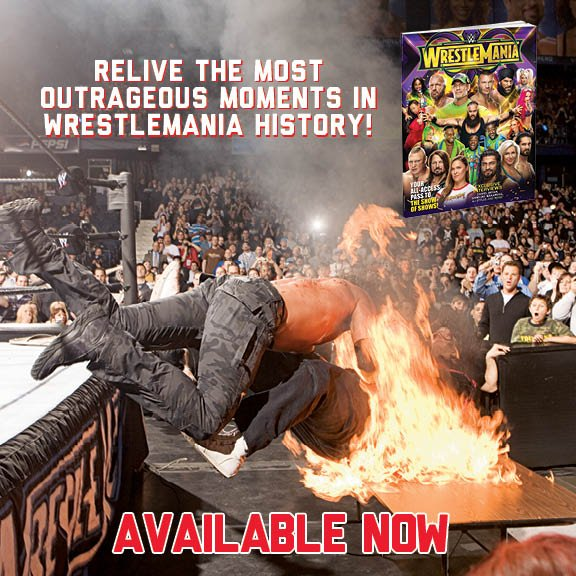 Relive the most outrageous and epic moments in #WrestleMania history in the Official @WWE Collectors Edition, on newsstands now!    Get it online: wwe.me/vHYXL8