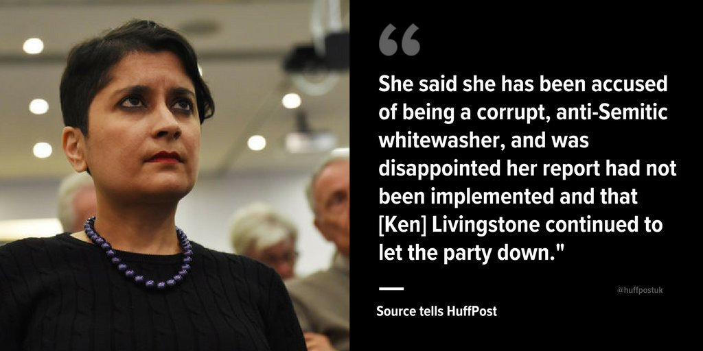 Shadow attorney general shami chakrabarti, who was commissioned to