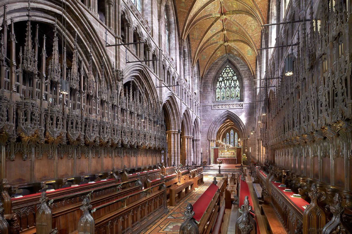Chester Cathedral On Twitter Didyouknow The Elaborate Carved