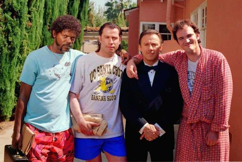 Happy birthday to Quentin Tarantino. Thoughts on PULP FICTION:
