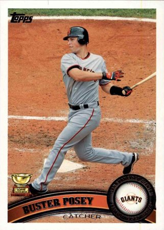 3/27/87 Happy Birthday to Buster Posey! (2011 Topps card)
