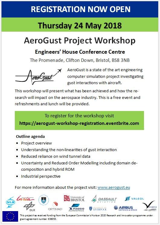 AeroGust Project (@EU_AEROGUST) | Twitter