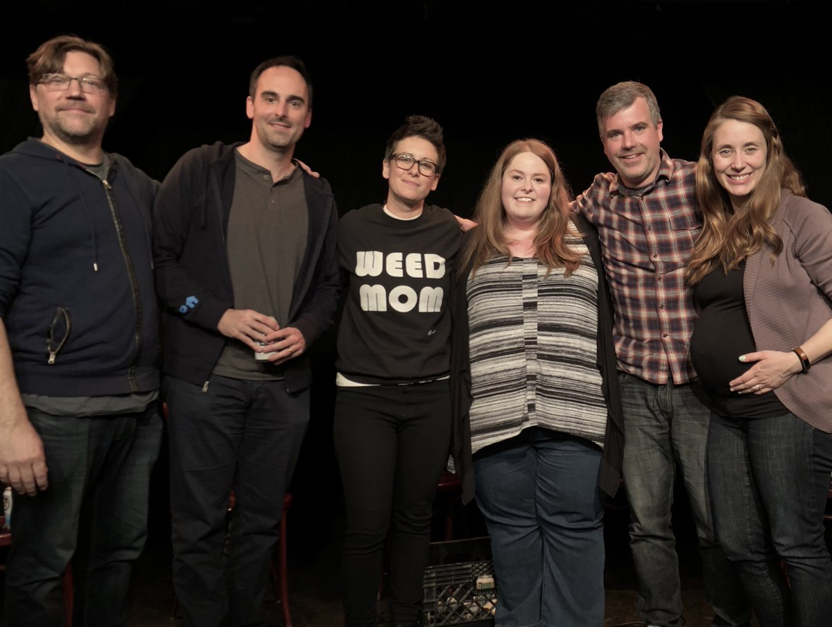 Fun show last night at @ucbtny East Village! Listen on the podcast: itunes.apple.com/us/podcast/two…