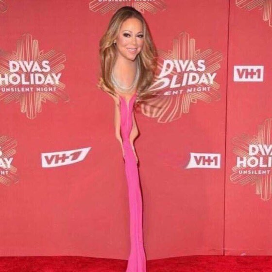 Happy birthday mariah carey today is officially the skinniest day of the year