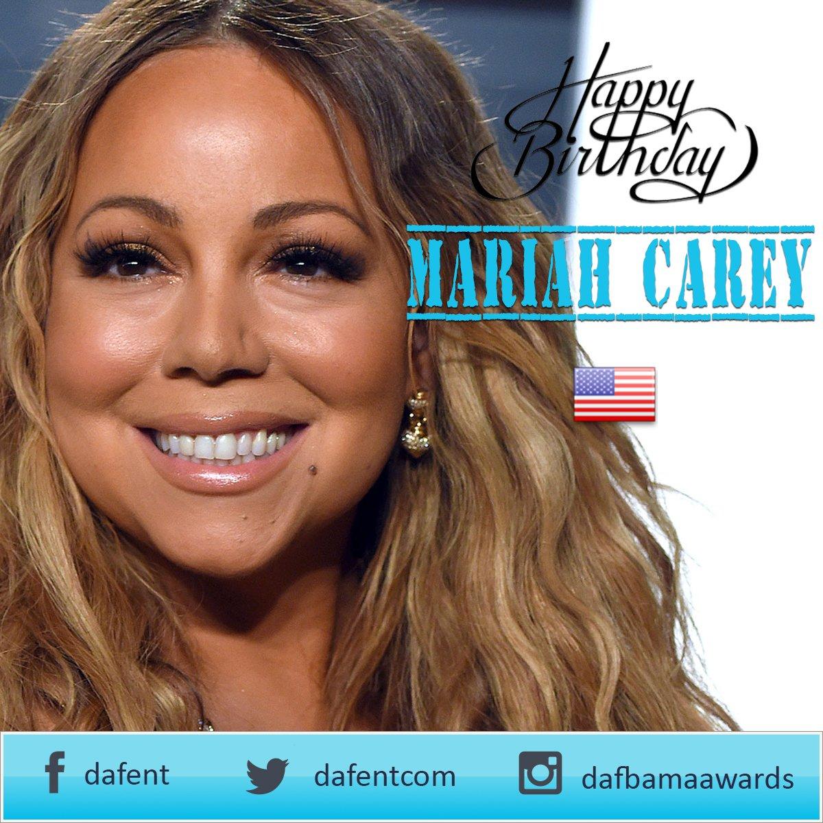 Happy birthday, Mariah Carey.