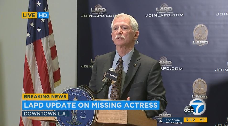 LIVE Officials Christopher Spotz involved disappearance Hollywood
