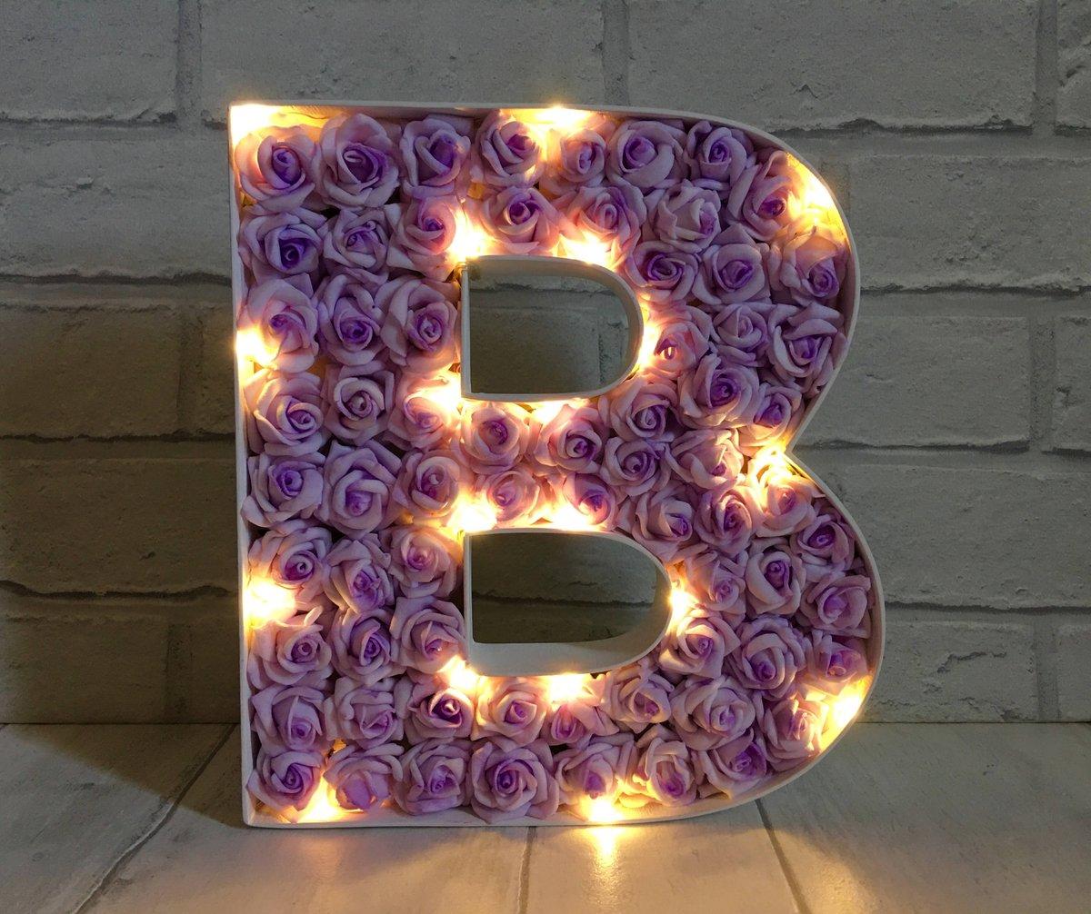 Letter B Decor