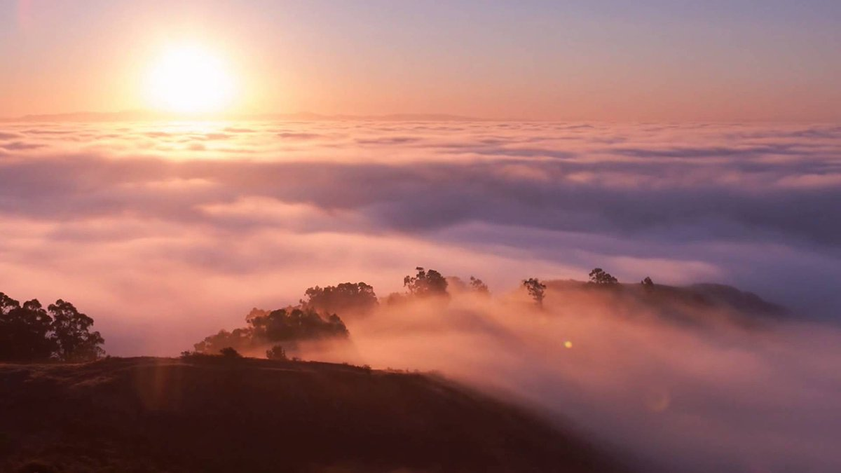 Юбилеем, туман гифка