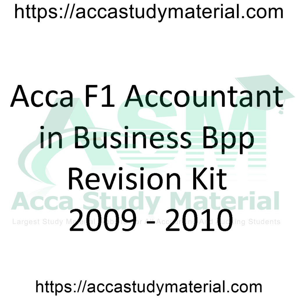 Acca Study Material (@Free_Acca) | Twitter