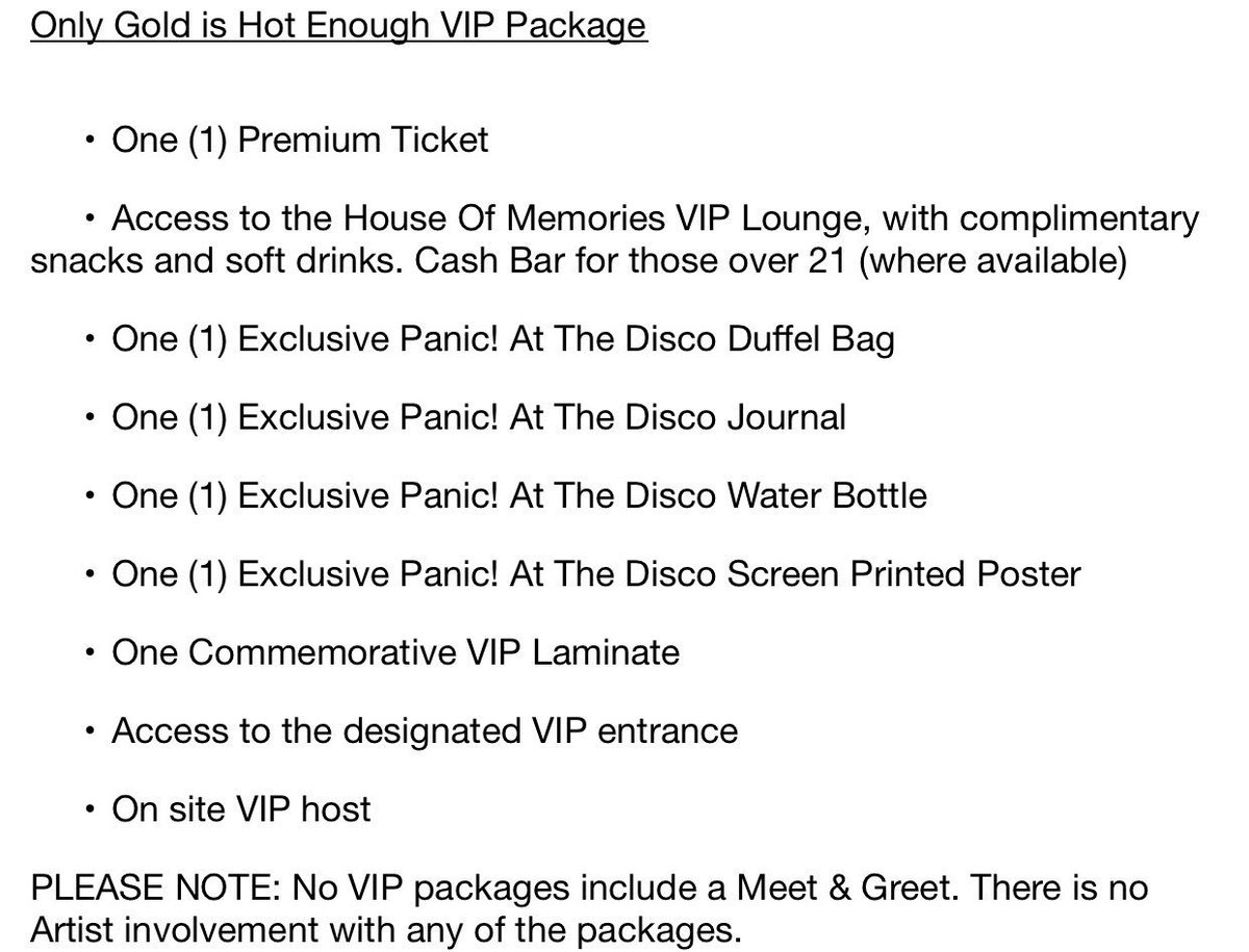 Panic Updating On Twitter Here Is What Is Included In Each Vip