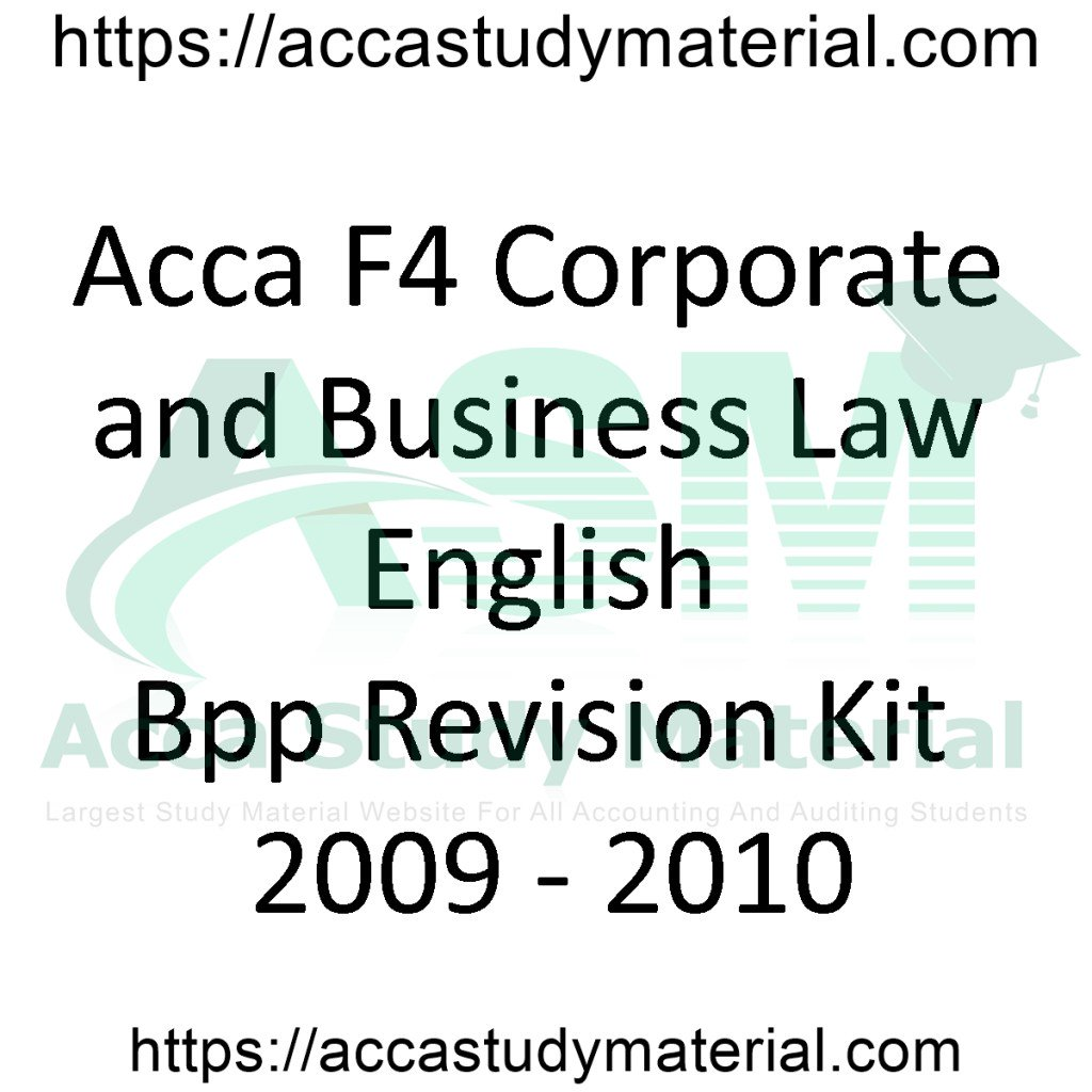 Acca Lw Eng Past Papers