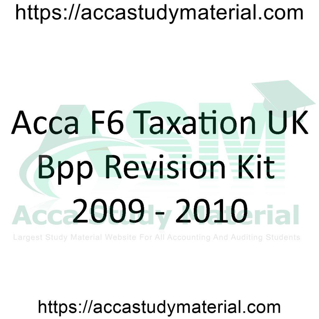 f6 revision kit 2014