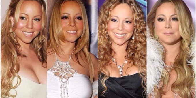 Happy birthday Mariah, you\re a true style icon