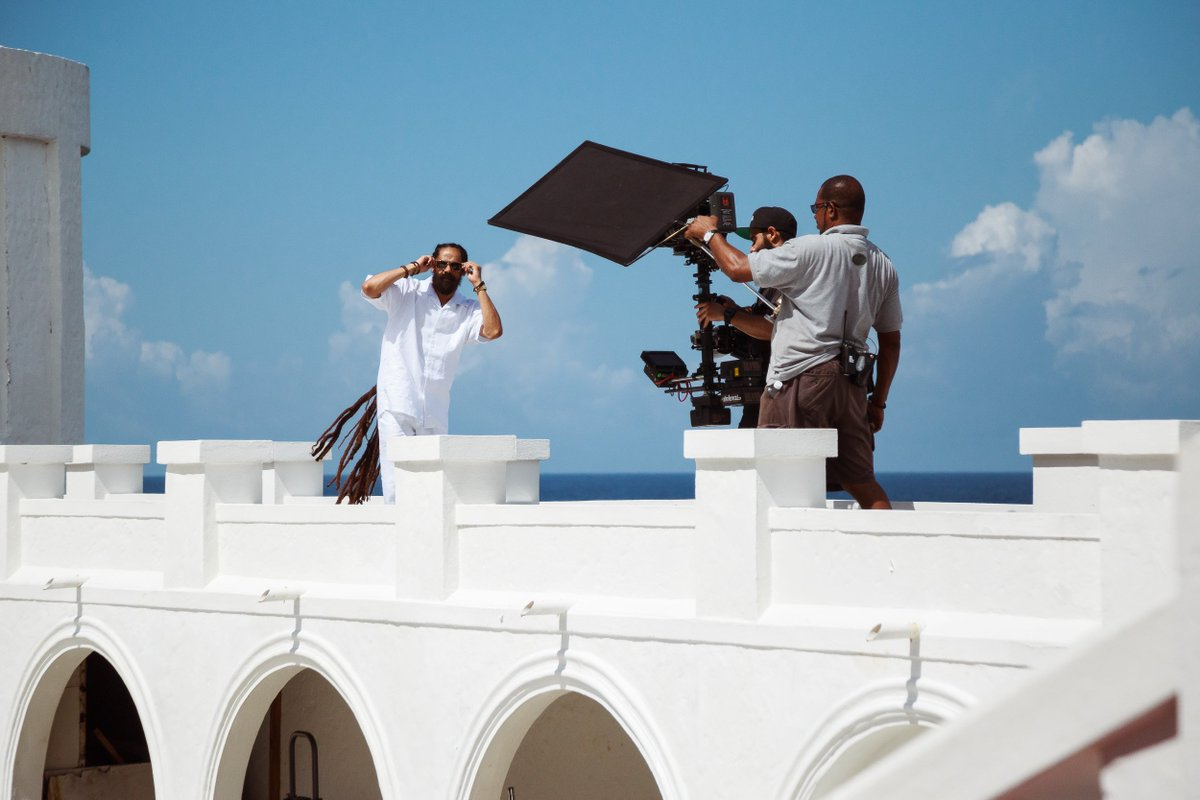 Behind the scenes... Watch #LIVINGITUP now on @TIDAL tidal.com/damianmarley #DamianMarley #StonyHill #GongZilla #JrGong