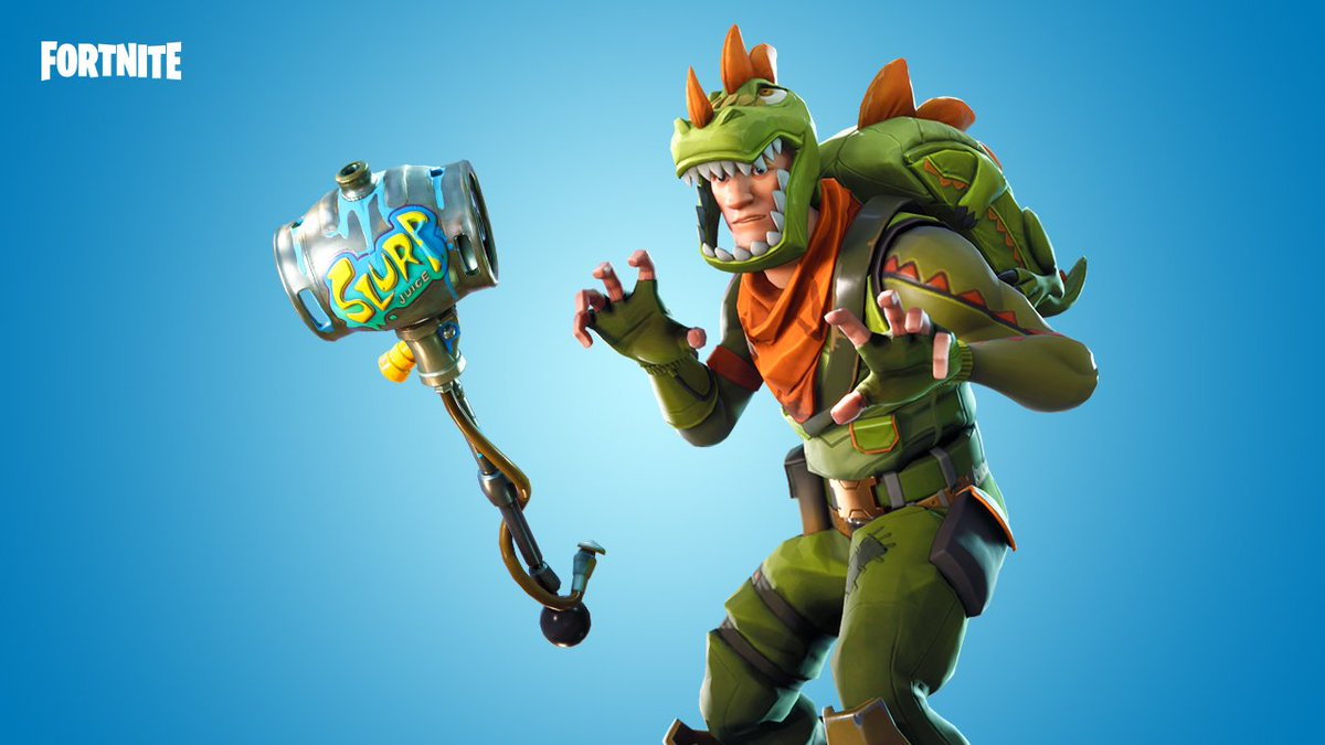 Fortnite On Twitter All The Dinosaurs Feared Slurp O Saurus Rex