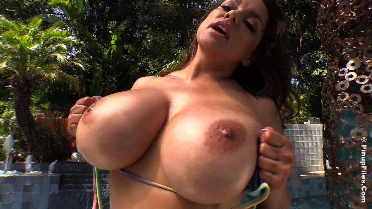 Natural huge boobs only grope