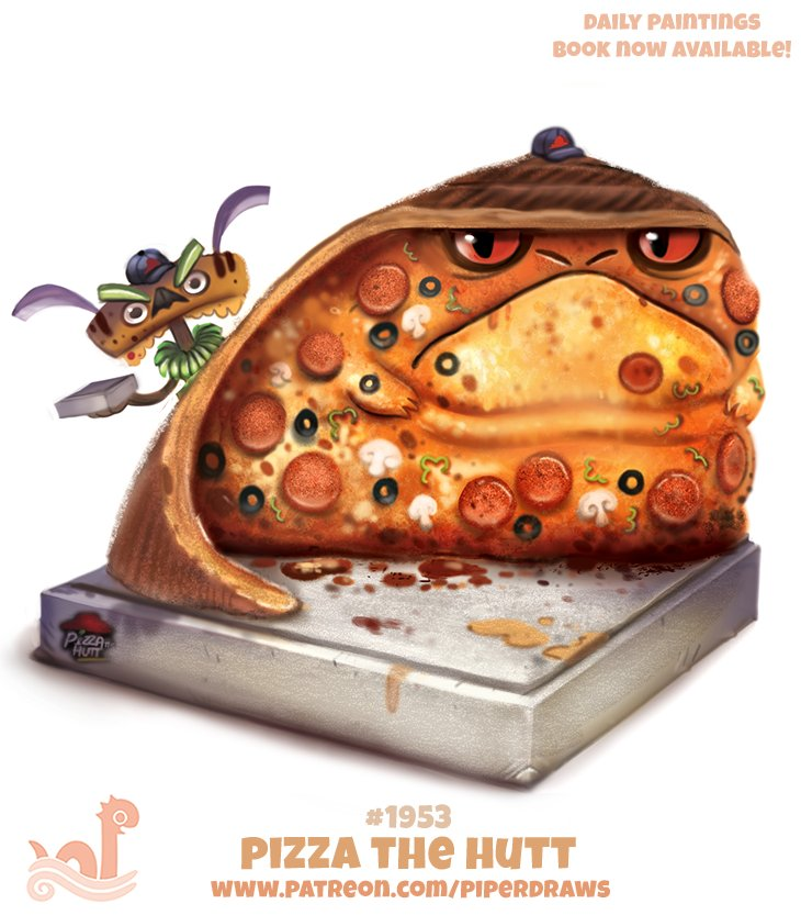 Piper Thibodeau On Twitter Daily 1953 Pizza The Hutt