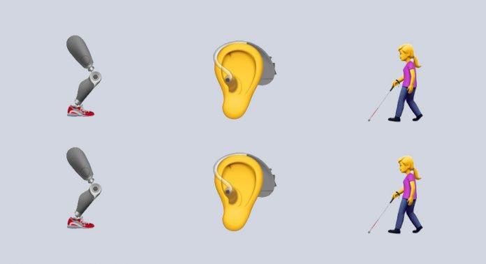 Apple propuso nuevos emojis de diferentes discapacidades para la próxima versión de los emoticones del Consorcio Unicode: https://t.co/EZUpbDC07B