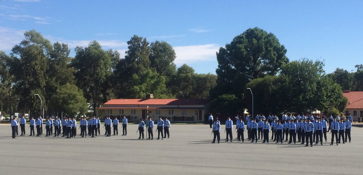 #YourADF welcomes our newest Air Force members who marched out of 01/18 Recruit Course RAAF Wagga today