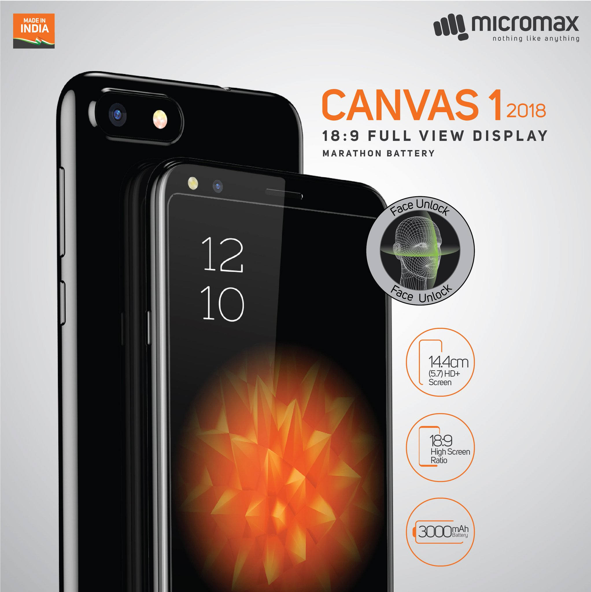 Micromax Canvas 1 (2018) Features, Specifications, Price and Release Date